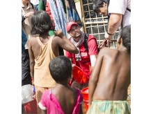 Vattenrening i Cox's Bazar, Bangladesh