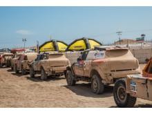 Kärcher rengör på Rally Dakar 2016