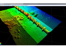 High res image - Oceanology International - R2Sonic 'Pipeline Mode' of its multibeam sonar technology
