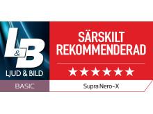 SUPRA NERO-X - Särskilt rekommenderad