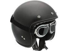 AGV RP60 mc-hjälm, Mono Matt Black, med goggles
