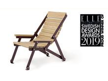 Loj Sunchair, design Thomas Bernstrand