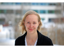 Ann Hyvärinen är forskarstuderande vid KTH. Foto: Peter Ardell.