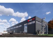 Logistic Contractor utvecklar och bygger för Design Online i Kalmar.