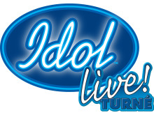 Idol Live! Turné logga