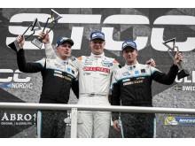 Johan Kristoffersson tog hem segern i det första STCC-racet