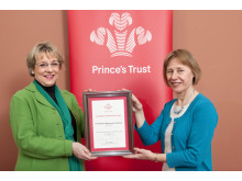HMRC wins award from The Prince's Trust