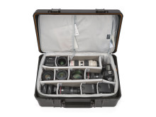 Lowepro Hardside 400 Photo packad med utrustning