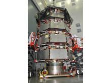 De fyra MMS-satelliterna Bild: NASA