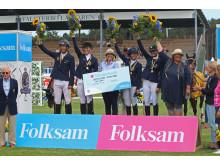 Österlens Ridklubb vann Folksam Elitallsvenska, SM i laghoppning