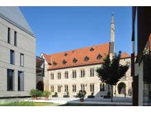 Augustinerkloster mit Haus der Versöhnung und Waidhaus - Ort der Einkehr, Foto Lutz Edelhoff