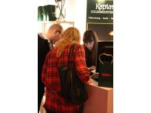 Kaplans Guldsmedsverkstad på bröllopsmässan i Nacka Strand 2013