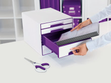 Leitz WOW Cube Purple