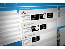 Consat Telematics Media Management Studio GUI