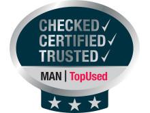 """""""Seal of quality"""" er navnet på den kvalitetscertificering, som MAN nu også indfører på brugte busser"""