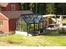 Växthus som Friggebod i Segersäng