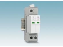 Smal overspændingsafleder til DC strømkilder