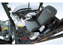 Hitachi minigrävare, förarkomfort