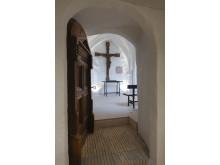 Det nye flytbare alterbord i Sdr. Asmindrup Kirke