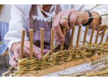 Die Kunst des Heuwebens wird im Heimathaus Clausnitz gezeigt