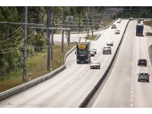 Invigningen av Elväg E16 (eHighway) den 22 juni