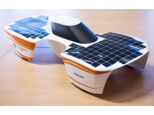 Modell av MDH Solar Car