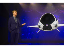 Lexus-designade rymdfarkosten Skyjet