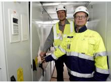 Atrian Tapani Potka ja Solarigon Jukka Muilu