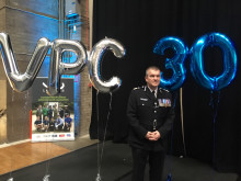 AC Hewitt at VPC event