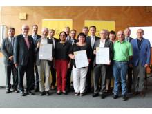 Bürgerenergiepreis Unterfranken 2017: Preisverleihung