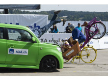 AXA Crashtests 2018: Cargo-E-Bike