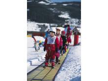 Der Ski-Nachwuchs profitiert in nahezu allen norwegischen Alpinzentren am meisten von den zahlreichen Neuerungen.
