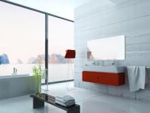 Eine Spiegelheizung bietet Angenehme behagliche Wärme und im Schicken Design spart man sich auch gleichzeitig den Spiegel