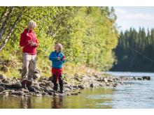 Fishing Årefjällen