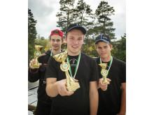 Tre pristagare i dagens Kvaltävling till Yrkes-SM