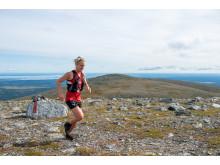 Jennifer Asp, vinnare damklassen Buff 50K i Fjällmaraton Bydalsfjällen 2019