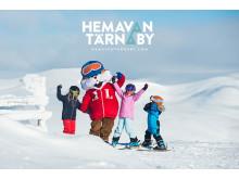 Hemavan Tärnaby - Skidåkning med barnens favorit Lenny Lämmel