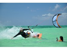 Kitesurfing på Tobago