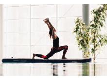 SUP-yoga på Holiday Club Åre