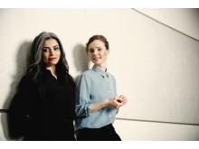 Sara Omar og Lise Rønne