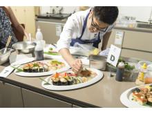 Endspurt beim kreativen Original-Sushi
