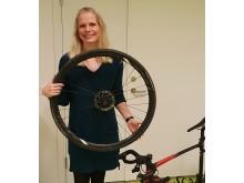 Carla Nooijen som fått SCIF:s lilla vetenskapliga pris