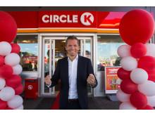 Åpning Circle K Økern 1