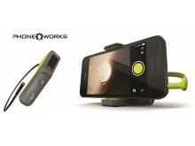 RYOBI® PHONE WORKS™ Forvandler din mobil til dit smarteste værktøj (version: RPW-5000)