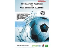 Viva con Agua Allstars Fußballspiel: Kicken mit Christoph Metzelder, Kostja Ullmann und OK KID