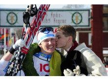 Susanne Nyström, Laisvalls SK, vann TjejVasan 2012