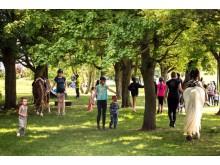 Sommarfesten 2016 i Kroksbäcksparken