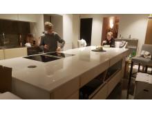Inflyttning:  Köket på Sveriges modernaste eko-hus