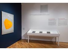 Anna-Eva Bergman. Installasjonsfoto, Rom III Univers/Måne/Stjerne/Planet, Nasjonalmuseet 2015.