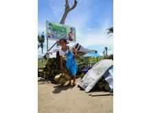 Irenes kokosnötsförsäljning